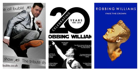 Michael Buble and Robbie Williams  tribute night with Marc Hockley tickets