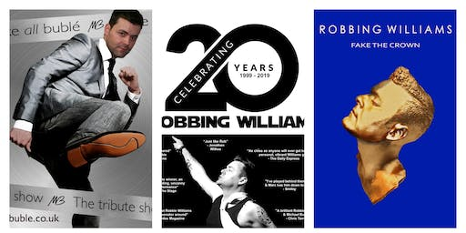 Michael Buble and Robbie Williams  tribute night with Marc Hockley