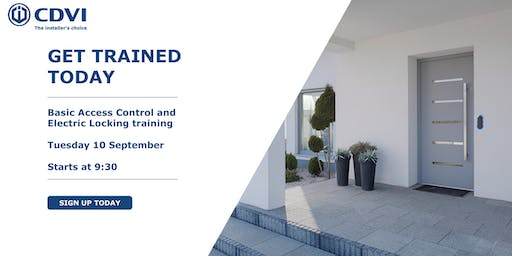 September Basic Access Control and Electric Locking Training