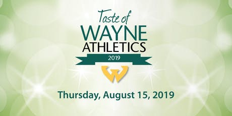 2019 TASTE OF WAYNE ATHLETICS tickets