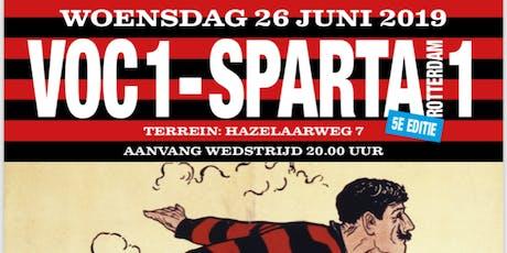 VOC1 tegen Sparta1 tickets