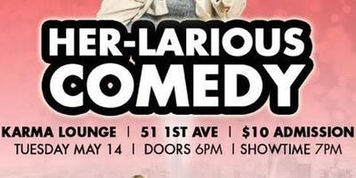 Her-Larious Comedy Show