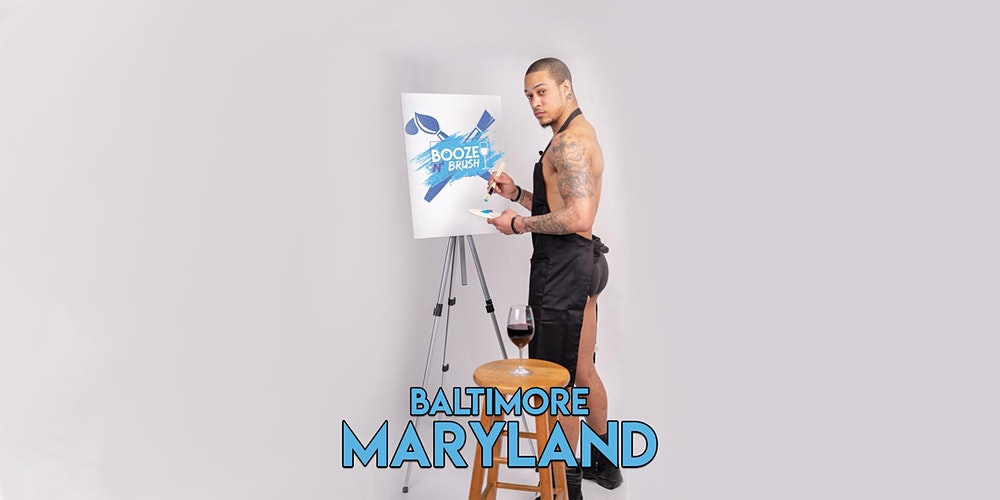 Booze N Brush Next To Naked Sip N Paint Baltimore Md