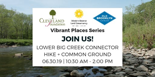 Vibrant Places: Old Brooklyn Connector Hike + Common Ground (SOLD OUT)