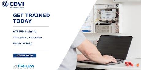 October ATRIUM Training tickets