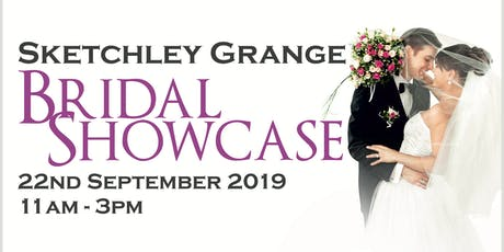 Sketchley Grange Bridal Showcase tickets