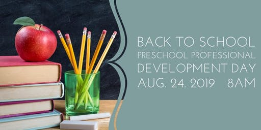 Back to School Professional Development Day
