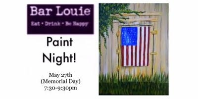 Paint Night at Bar Louie 5/27