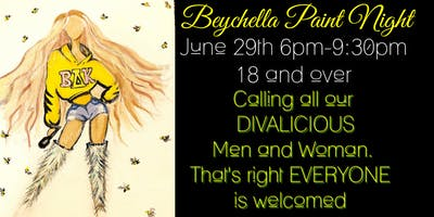 Beychella Paint Night