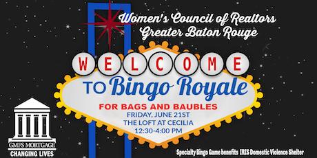 Bingo Royale tickets