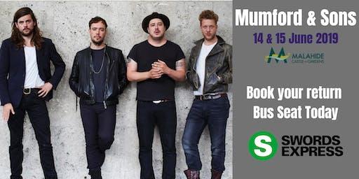 Mumford & Sons @ Malahide Castle Bus Ticket