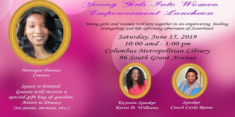 Young Girls Into Women Empowerment Luncheon  tickets