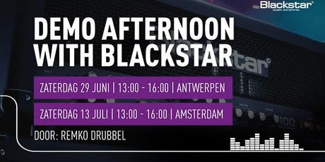 Demo: Afternoon with Blackstar tickets