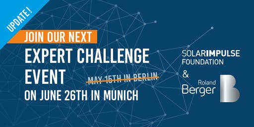 Solar Impulse Foundation x Roland Berger Experts Challenge Event