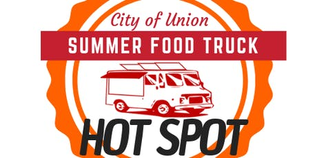 City of Union Summer Food Truck Hot Spot tickets