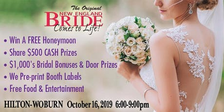 New England Bride Comes To Life at Hilton Boston Woburn tickets