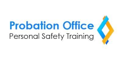 Probation Personal Safety Refresher Training - Brockville Session 1 (for Brockville, Cornwall, and Pembroke Probation Office Staff) - June 18, 2019
