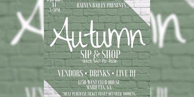 Autumn Sip & Shop (Vendors Only)