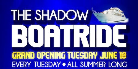 THE SHADOW BOATRIDE THE 21st SEASON! tickets