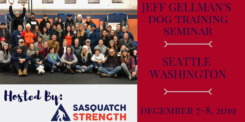 Seattle, Washington - Jeff Gellman's 2 Day Dog Training Seminar