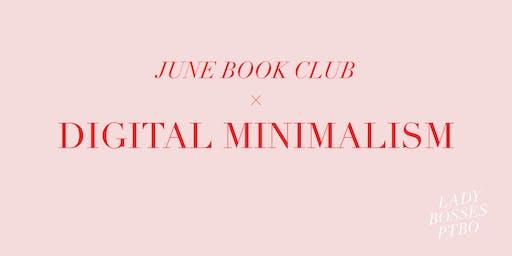 June Book Club - Digital Minimalism
