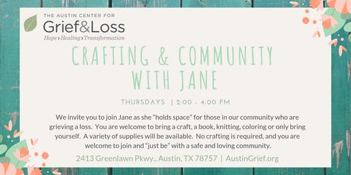 Community Crafting with Jane