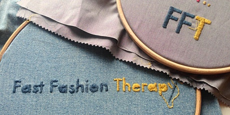 Repair & Refashion your Clothes with Fast Fashion Therapy tickets