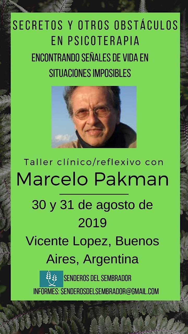 Imagen de Taller clínico con Marcelo Pakman