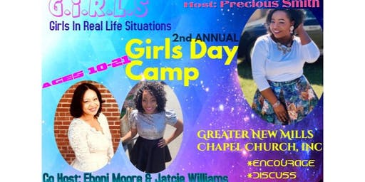 2nd Annual Girls Day Camp