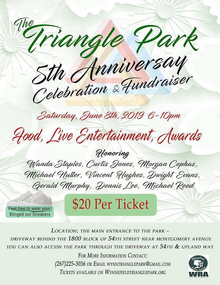 Triangle Park 5th Anniversary Celebration & Fundraiser image
