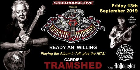 The Steelhouse Festival Away Day Featuring Bernie Marsden (Tramshed, Cardiff) tickets