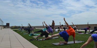 GMRENCEN Rooftop Yoga - May 22