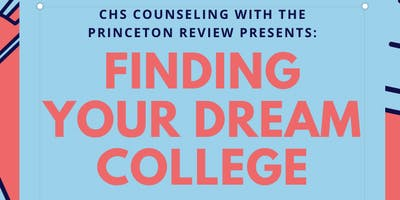 Finding Your Dream College