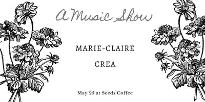Marie-Claire and Crea at Seeds Coffee