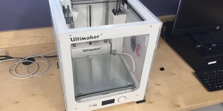 Basic Use and Safety: Ultimaker 3D Printer tickets