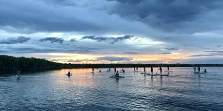 Goodbye summer: Women's social sunset and glow SUP! tickets
