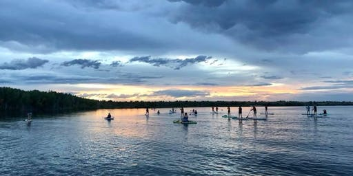 Goodbye summer: Women's social sunset and glow SUP!
