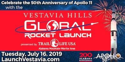 Vestavia Hills Apollo 11 50th Anniversary Rocket Launch