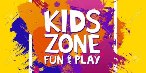 Inflatable Kids Zone - Block Party Community Event