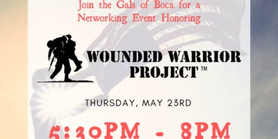Power Gals of Boca - Networking Event honoring the Wounded Warrior Project