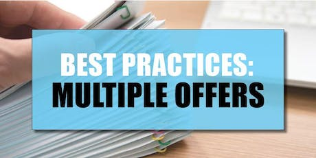 CB Bain | Best Practices: Multiple Offers (3 CE-WA) | Vancouver East | July 23rd 2019 tickets