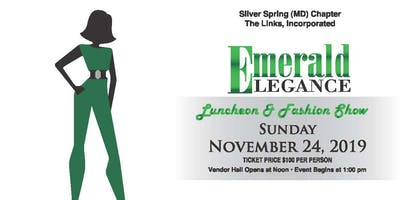 2019 Emerald Elegance Luncheon/Fashion Show