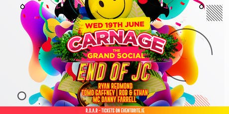 END of JC! w/ Ryan Redmond & Danny Farrell at The Grand Social tickets