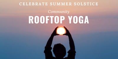 Summer Solstice Rooftop Yoga