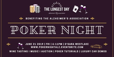 Poker Night Benefiting The Alzheimer's Association tickets