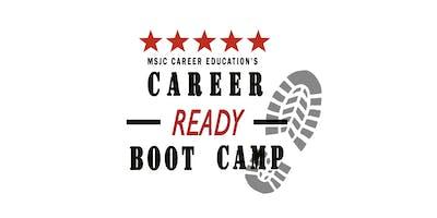 MSJC Career Ready Bootcamp - SJC