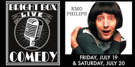 Bright Box Comedy: Emo Philips - Saturday 9:30PM Show tickets
