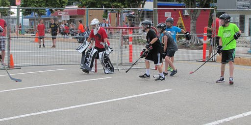 Sicamous Canada Day Road Hockey Tournament