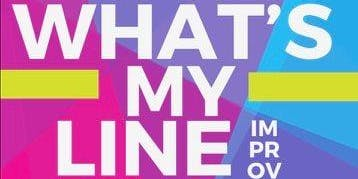 What's My Line Improv at the Port Grill