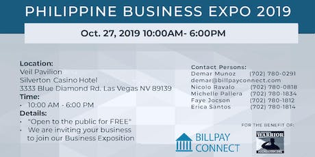 Philippine Business Expo 2019 tickets